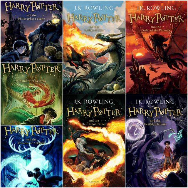 Harry Potter UK Collage