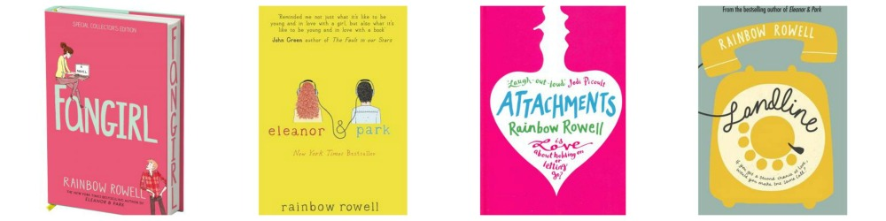 RainbowRowell Collage